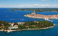Charter destinations in Croatia.